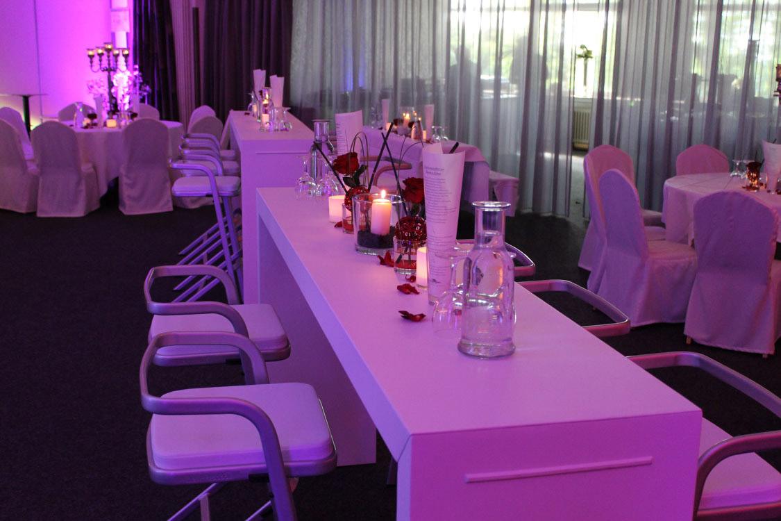 Tischdekoration Fur Hochzeitsfeier Schutzenhaus Remscheid